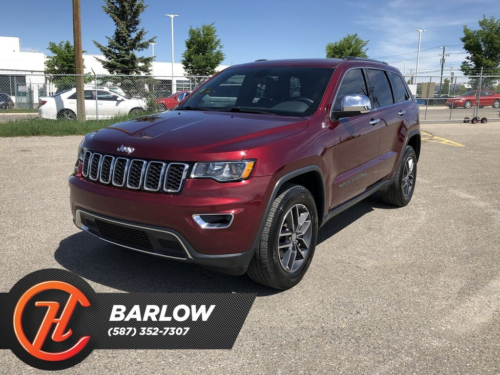 Pre-Owned 2017 Jeep Grand Cherokee Limited / Back Up Camera / Sunroof / Bluetooth