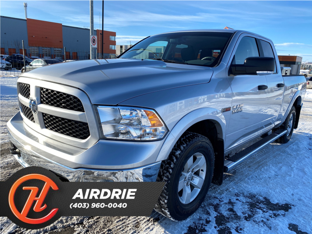 Pre-Owned 2016 Ram 1500 4WD Quad Cab 140.5 Outdoorsman