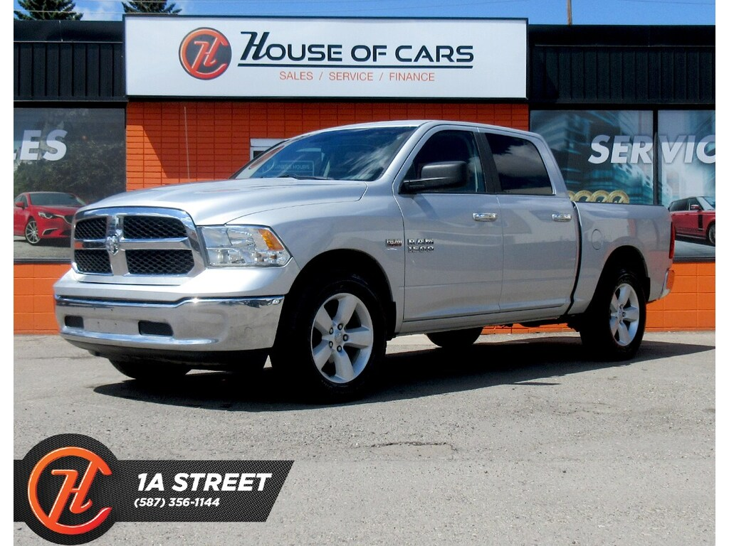 Pre-Owned 2016 Ram 1500 SLT/4WD/BLUETOOTH/COMPASS/MORE