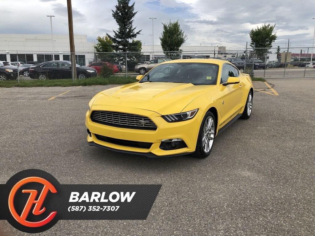 Pre-Owned 2016 Ford Mustang EcoBoost Premium / Navi / Back up Camera