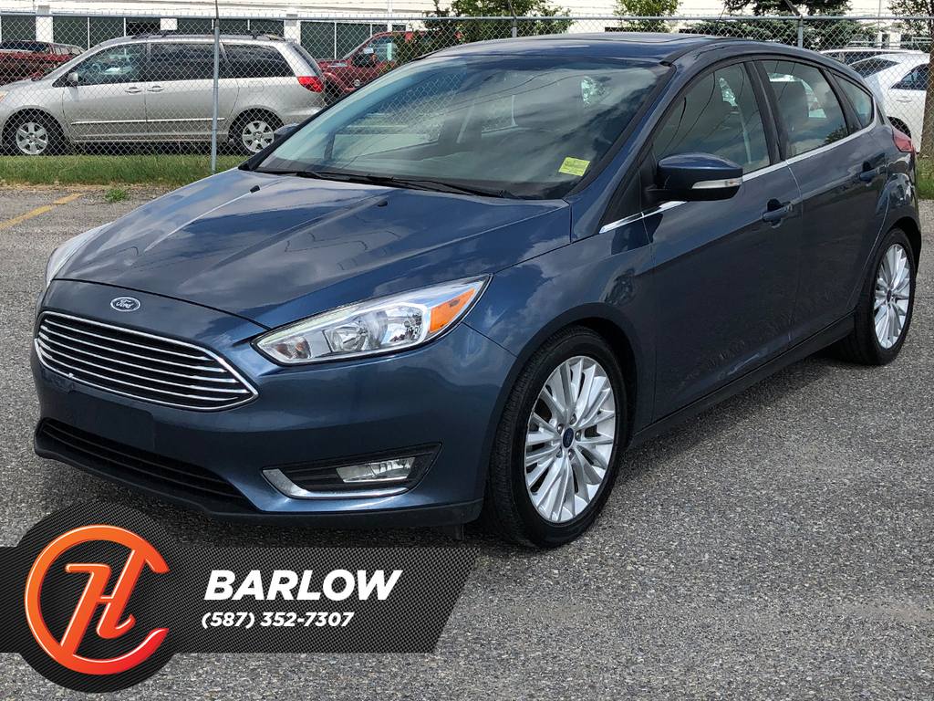 Pre-Owned 2018 Ford Focus Titanium Hatch / Leather / Sunroof