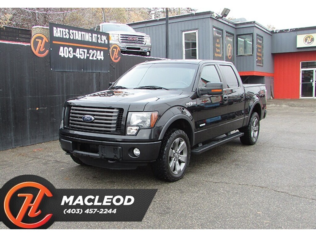 Pre-Owned 2012 Ford F-150 FX4,Leather,Back up cam,Remote starter,AWD
