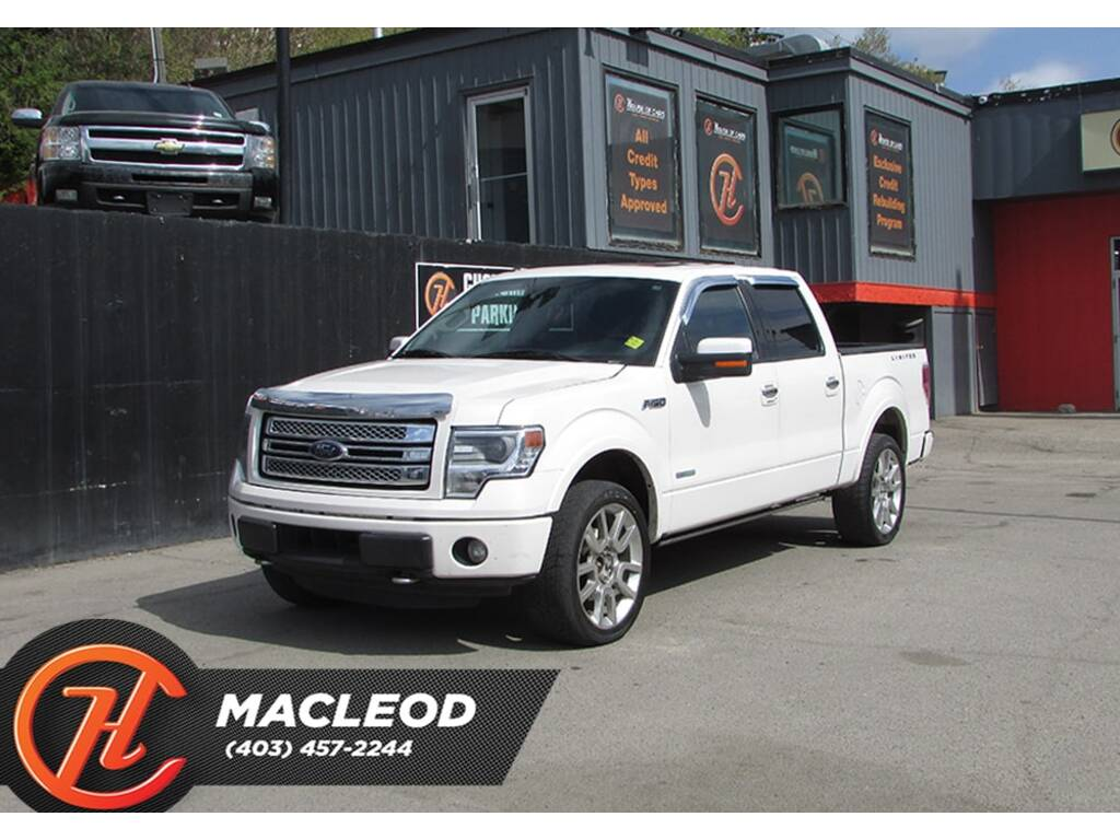 Pre-Owned 2013 Ford F-150 Limited,Bluetooth,Heated Leather Seats,Sunroof