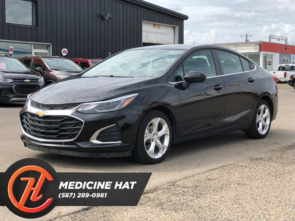 Pre Owned 2019 Chevrolet Cruze Premier Sedan In Medicine Hat Km
