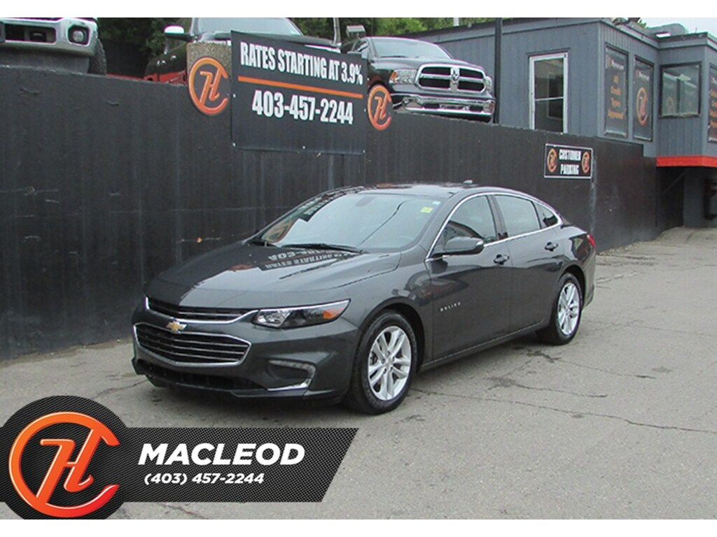 Pre-Owned 2018 Chevrolet Malibu LT,Bluetooth,Backup Cam,Heated Seats FWD Sedan
