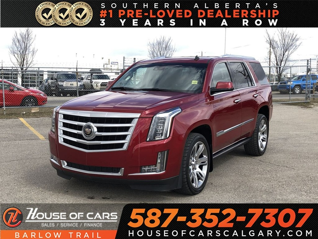 Pre-Owned 2015 Cadillac Escalade Premium / Navi / Back up Camera / Leather Seats