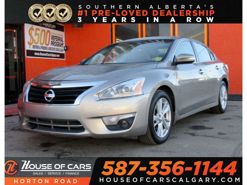 Pre-Owned 2013 Nissan Altima 2.5 SL/SUNROOF/BACKUP CAM/HEATED SEATS/MORE