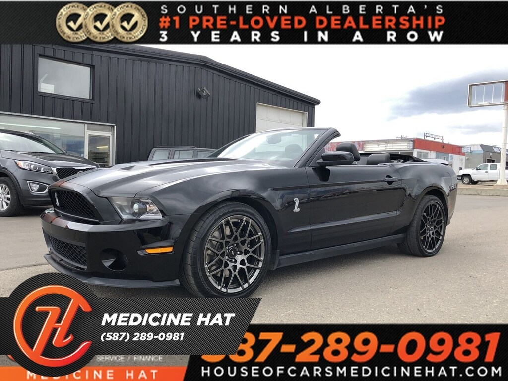 Pre-Owned 2010 Ford Mustang Sheby GT500