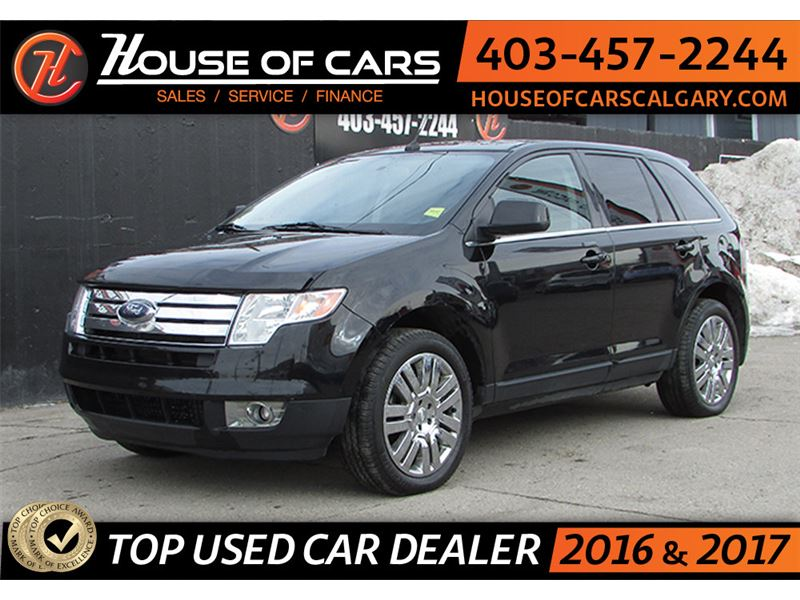 Pre-Owned 2008 Ford Edge Limited/ AWD HTD/LTHR SEATS CRUISE CONTROL ...