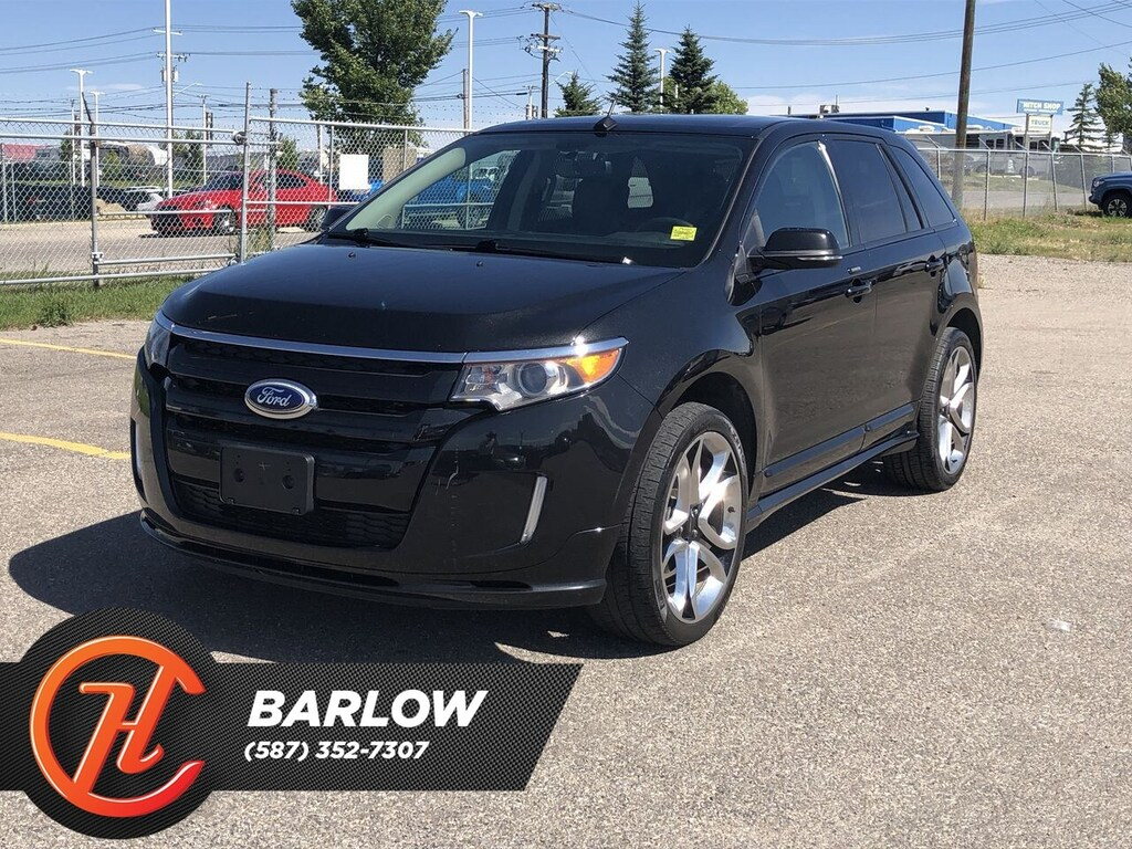 Pre Owned 2014 Ford Edge Sport Navi Back Up Camera Sunroof Awd