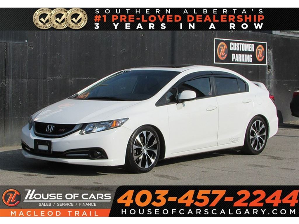 Captivating Pre Owned 2013 Honda Civic Si /NAVIGATION/SUNROOF/BACK UP