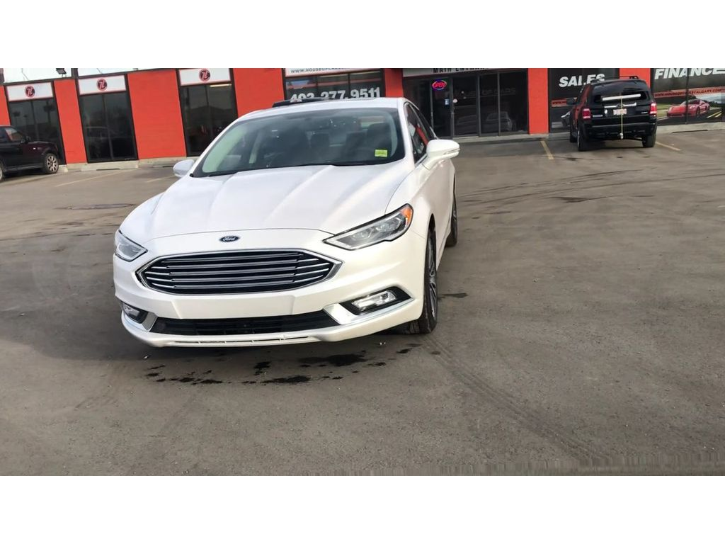 Pre Owned 2017 Ford Fusion Se Leather Back Up Cam Sunroof Navi