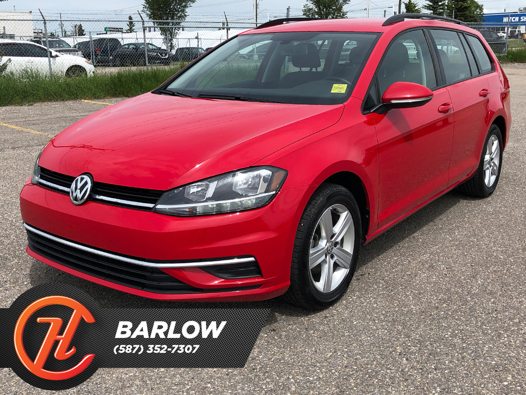 Pre-Owned 2019 Volkswagen Golf SportWagen Comfortline DSG 4MOTION / Heated seats