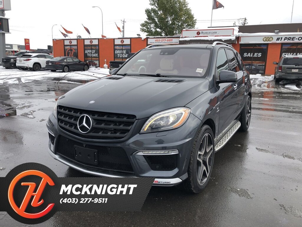 Pre-Owned 2014 Mercedes-Benz M-Class Leather / Sunroof / Back up cam / Nav