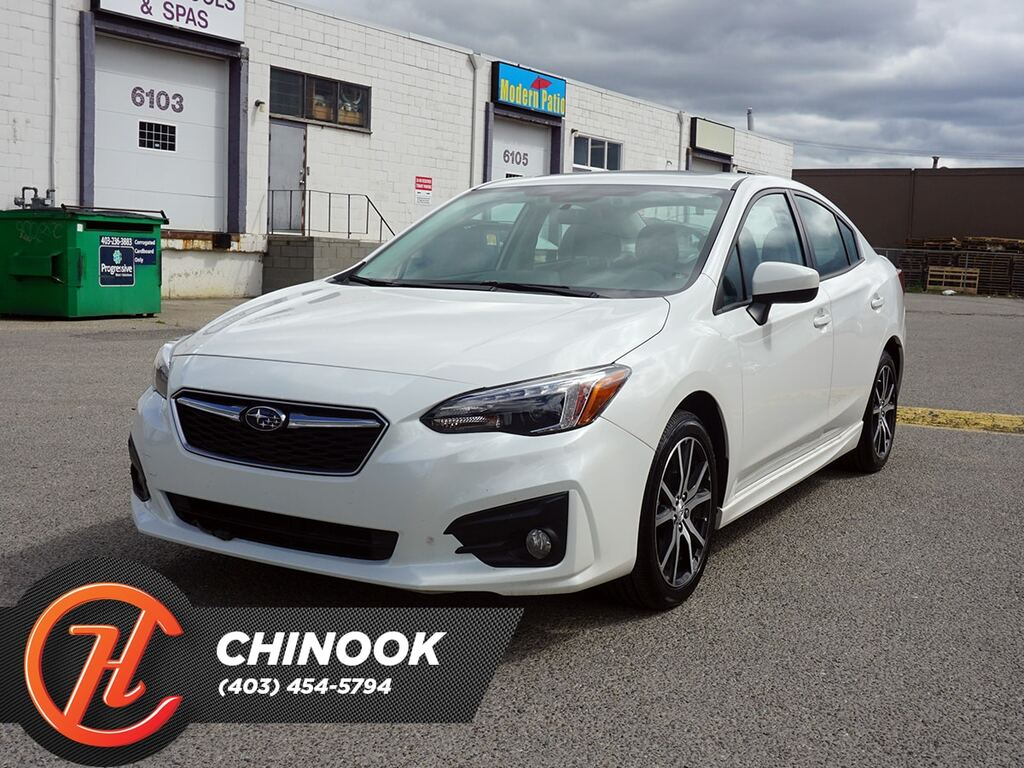 Pre-Owned 2017 Subaru Impreza Touring w/ Bluetooth,Heated Seats,Backup Cam