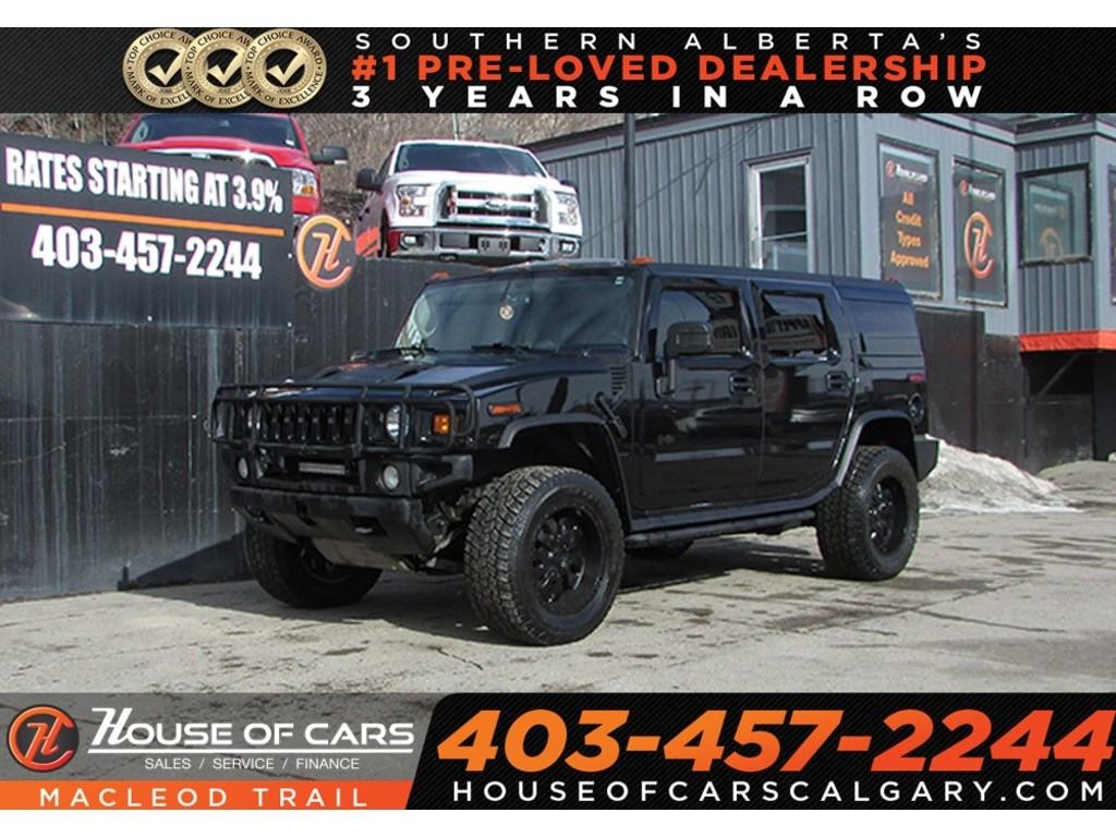 Pre-Owned 2004 Hummer H2 Sunroof/ Bluetooth/ Leather Seats/ AWD