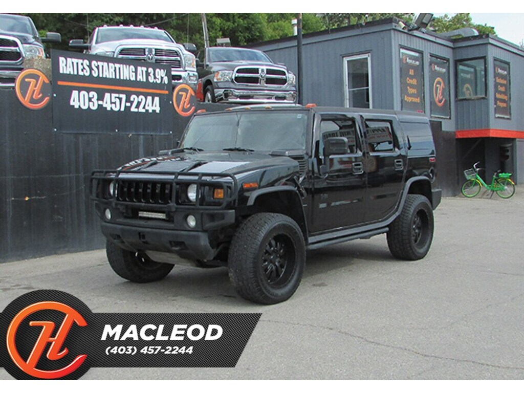 Pre-Owned 2004 Hummer H2 Bluetooth,Heated Seats AWD