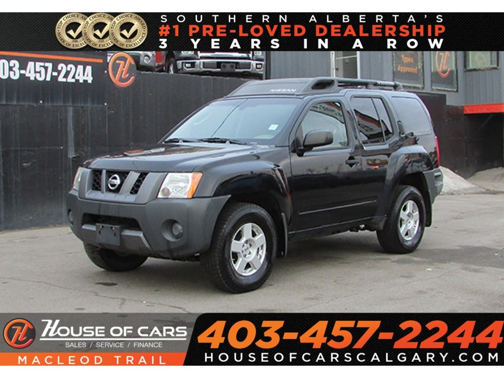 Pre Owned 2007 Nissan Xterra Off Road Bluetooth Awd Suv Calgary