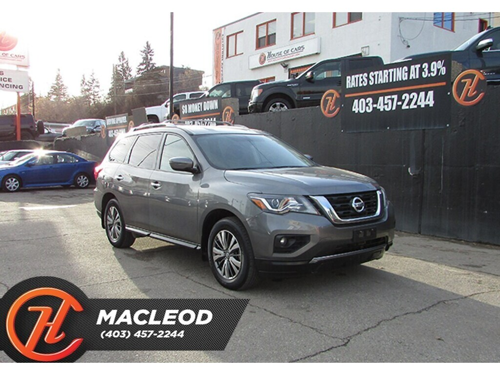 Pre-Owned 2018 Nissan Pathfinder SV,Bluetooth,Backup Cam,AWD
