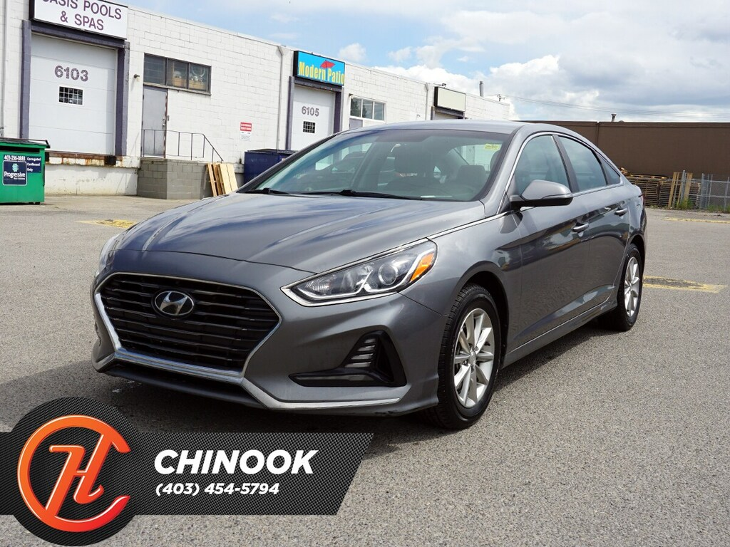 Pre-Owned 2018 Hyundai Sonata GL w/ Bluetooth,Heated Seats,Backup Camera