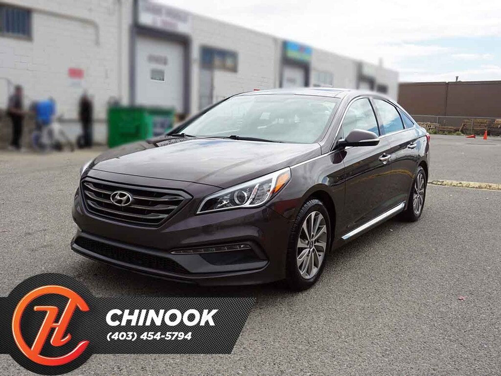 Pre-Owned 2015 Hyundai Sonata Sport w/ Bluetooth,Heated Seats,Backup Cam