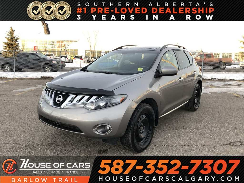 Pre Owned 2009 Nissan Murano Sl Back Up Camera Sunroof