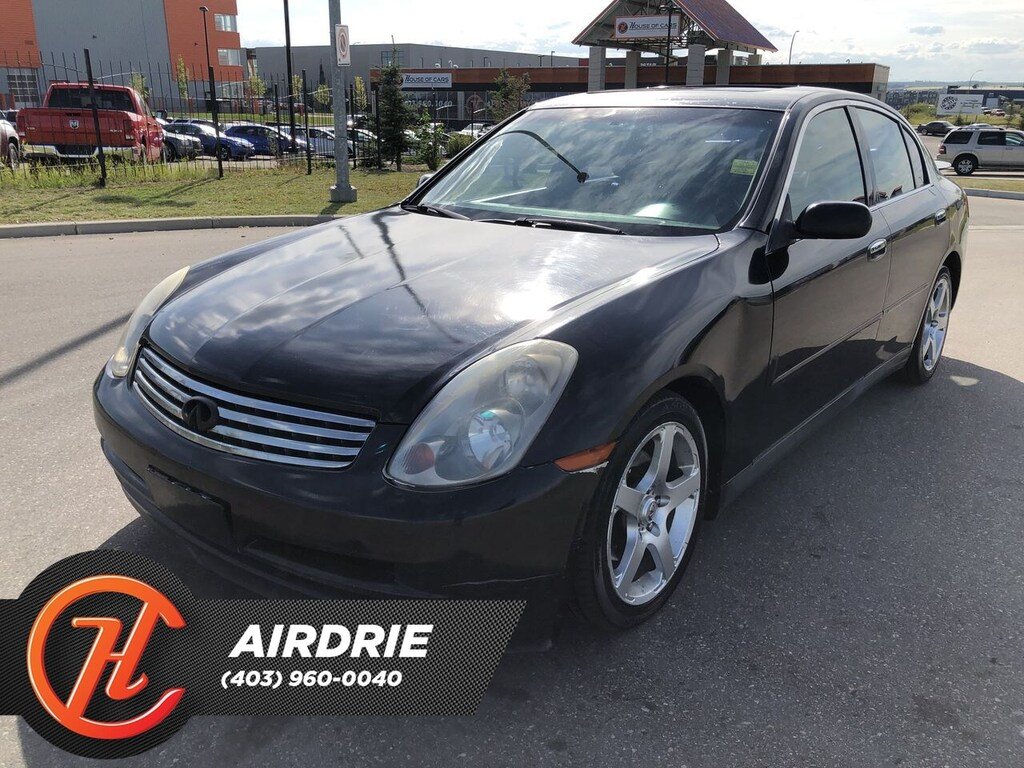 Pre-Owned 2003 INFINITI G35 Luxury