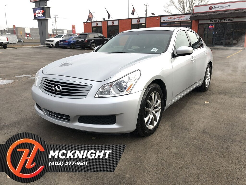 Pre-Owned 2009 INFINITI G37 Leather / Sunroof / Bluetooth