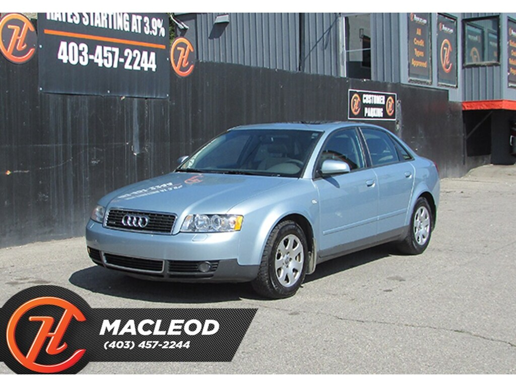 Pre-Owned 2003 Audi A4 1.8T (A5) quattro Mechanic special