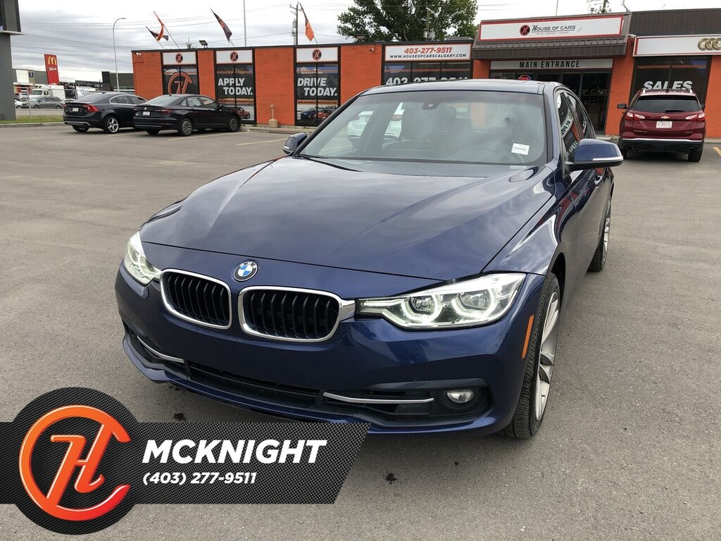 Pre-Owned 2018 BMW 330I xDrive / Leather / Sunroof / Cam / Navi