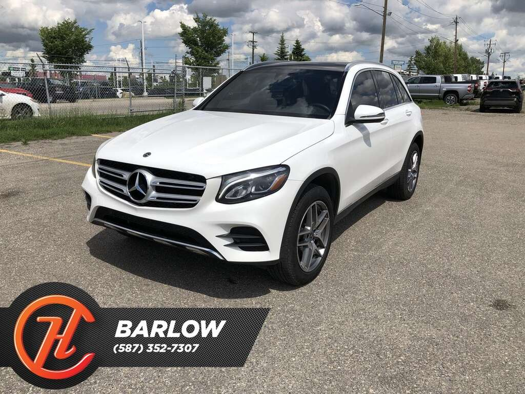 Pre-Owned 2019 Mercedes-Benz GLC300 4MATIC / Navi / Back up Camera / Sunroof
