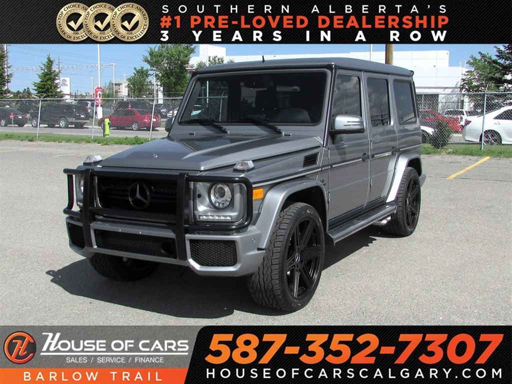 Pre Owned 2013 Mercedes Benz G Class G 63 AMG / Back Up