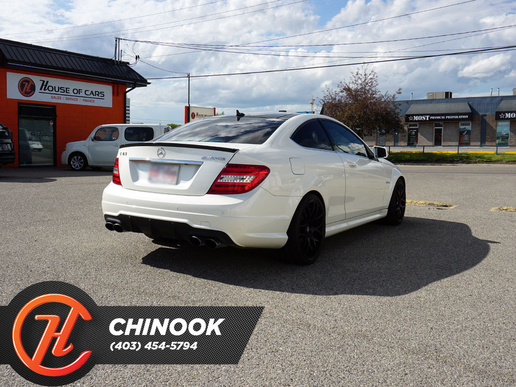 Pre-Owned 2013 Mercedes-Benz C-Class 2dr Cpe C 63 AMG RWD