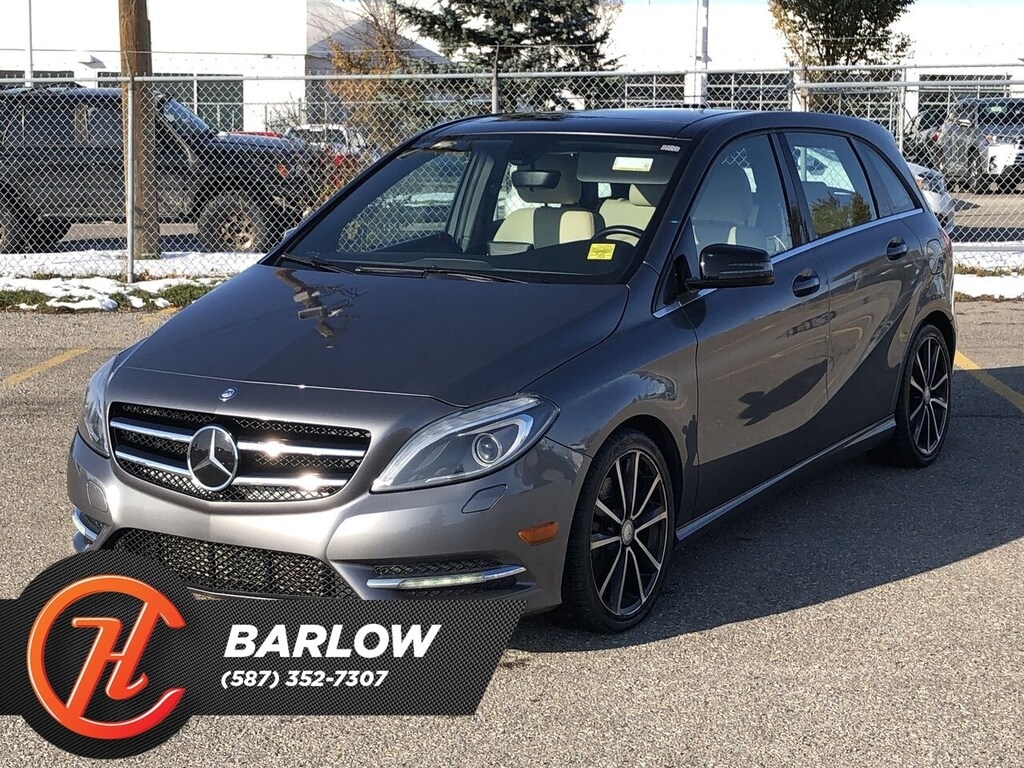 Pre-Owned 2013 Mercedes-Benz B-Class Sports Tourer / Leather / Sunroof