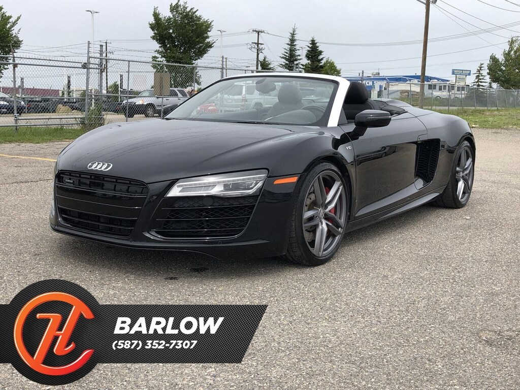 Pre-Owned 2015 Audi R8 (S tronic) / Navi / Back up Camera
