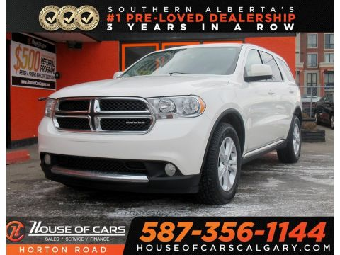 Pre-Owned 2012 Dodge Durango SXT/AUX/VOICE COMMAND
