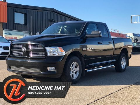 Pre-Owned 2012 Ram 1500 Sport 4x4 Quad Cab 140 in. WB