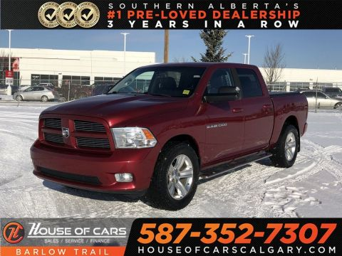 Pre-Owned 2012 Ram 1500 Sport 4x4 Crew Cab 140 in. WB