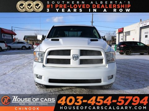 Pre-Owned 2012 Ram 1500 Sport w/ Heated/Cooled Seats,Backup Camera
