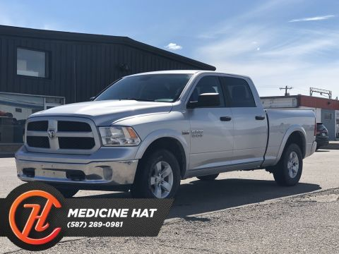 Pre-Owned 2017 Ram 1500 4WD Crew Cab 149 Outdoorsman