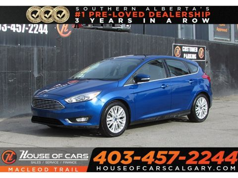 Pre-Owned 2018 Ford Focus Titanium,Backup Camera,Sunroof,Heated Seats