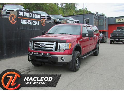 Pre-Owned 2012 Ford F-150 4WD SuperCrew 145 XLT,BACK UP CAM