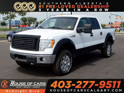 Pre-Owned 2010 Ford F-150 XLT / 4WD Supercrew Cab