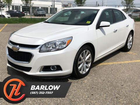 Pre-Owned 2016 Chevrolet Malibu LTZ / Back Up Camera / Navi / Leather Seats