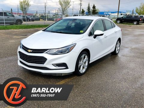 Pre-Owned 2017 Chevrolet Cruze Premier / Back Up Camera / Heated Leather Seats