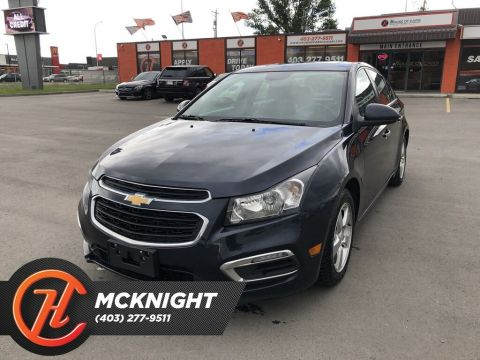 Pre-Owned 2016 Chevrolet Cruze LT 2LT / Leather / Sunroof
