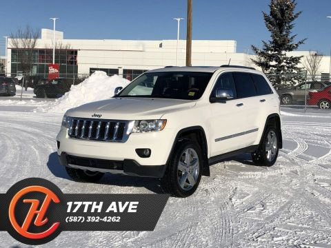 Pre-Owned 2011 Jeep Grand Cherokee Overland / Heated and cooled leather seats