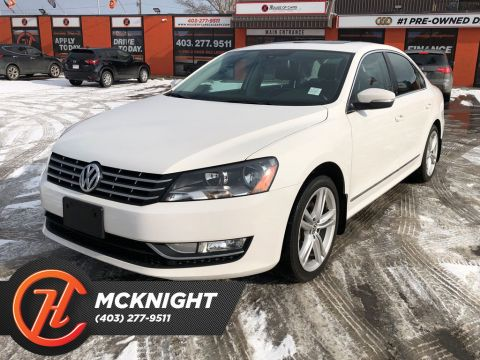 Pre-Owned 2014 Volkswagen Passat TDI / leather / Sunroof / Back up cam