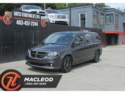Pre-Owned 2018 Dodge Grand Caravan GT,Heated Seats,Power Doors,Backup Cam