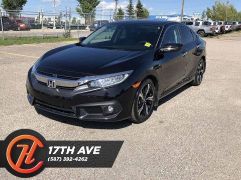 Pre-Owned 2017 Honda Civic Touring / Back up Camera / Navi / Sunroof